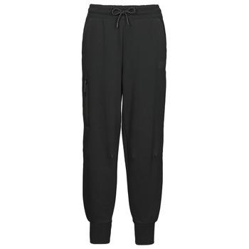 textil Dame Træningsbukser Nike NSTCH FLC ESSNTL HR PNT Sort