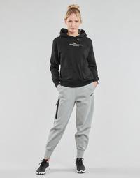textil Dame Træningsbukser Nike NSTCH FLC ESSNTL HR PNT Grå / Sort