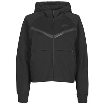 textil Dame Sportsjakker Nike NSTCH FLC WR ESSNTL FZ HDY Sort