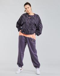 textil Dame Træningsbukser Nike NSICN CLSH JOGGER MIX HR Violet / Pink