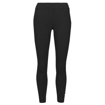 textil Dame Leggings Nike NSESSNTL 7/8 MR LGGNG Sort / Hvid
