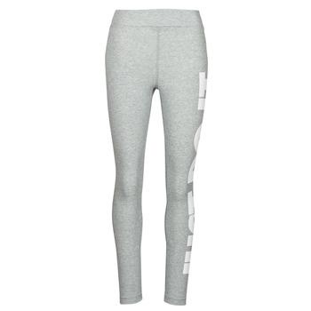 textil Dame Leggings Nike NSESSNTL GX HR LGGNG JDI Grå / Hvid