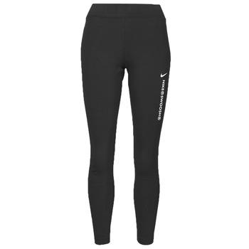 textil Dame Leggings Nike NSSWSH LGGNG HR Sort / Hvid