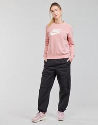 textil Dame Træningsbukser Nike NSICN CLASH PANT CANVAS HR Sort / Grå