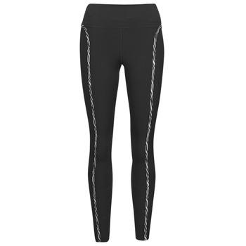 textil Dame Leggings Nike NIKE ONE LUXE ICNCLSH TGT Sort / Violet