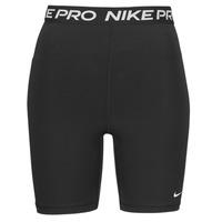 textil Dame Shorts Nike NIKE PRO 365 SHORT 7IN HI RISE Sort / Hvid