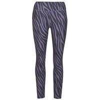 textil Dame Leggings Nike NIKE ONE 7/8 AOP TGT ICNCLSH Violet / Sort