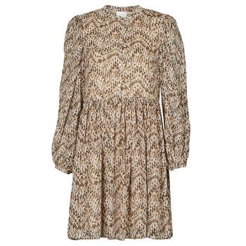 textil Dame Korte kjoler Vila VISUNARA Beige