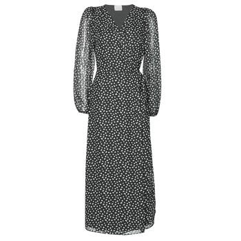 textil Dame Lange kjoler Vila VICELIMA Sort