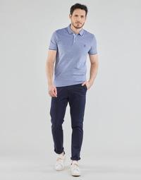 textil Herre Chinos / Gulerodsbukser Selected SLHSLIM-MILES FLEX Marineblå