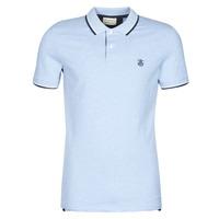 textil Herre Polo-t-shirts m. korte ærmer Selected SLHNEWSEASON Blå / Lys