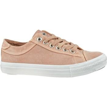 Sko Dame Lave sneakers Lee Cooper LCWL2031012 Hvid, Pink