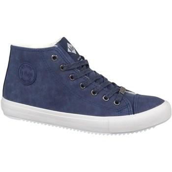 Sko Herre Høje sneakers Lee Cooper LCJL2031012 Flåde