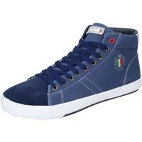Sko Herre Høje sneakers Armata Di Mare Sneakers Tela Camoscio Blu