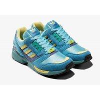 Sko Lave sneakers adidas Originals ZX 8000 Light Aqua Light Aqua/Sand