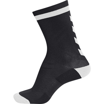 Accessories Børn Strømper Hummel Chaussettes  elite indoor sock low noir/blanc