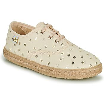 Sko Pige Lave sneakers Citrouille et Compagnie OWAZA Guld