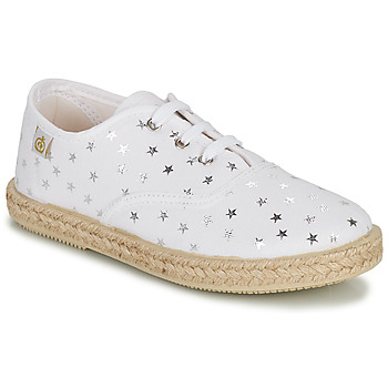 Sko Pige Lave sneakers Citrouille et Compagnie OUAKA Sølv