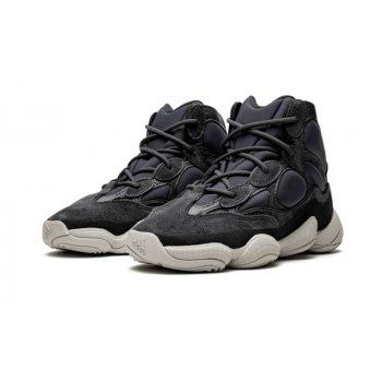 Sko Lave sneakers adidas Originals Yeezy 500 High Slate Slate/Slate/Slate