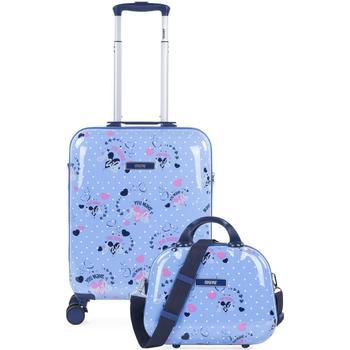 Tasker Pige Hardcase kufferter Skpat SMIL Cabin kuffert og nødvendighed Blå