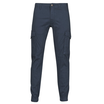 textil Herre Cargo bukser Jack & Jones JJIPAUL Marineblå