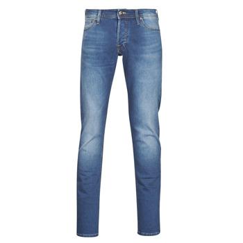 textil Herre Smalle jeans Jack & Jones JJIGLENN Blå / Medium