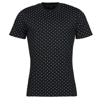 textil Herre T-shirts m. korte ærmer Jack & Jones JJMINIMAL Marineblå
