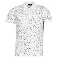 textil Herre Polo-t-shirts m. korte ærmer Jack & Jones JJMINIMAL Hvid