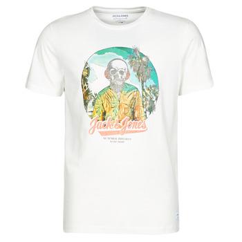 textil Herre T-shirts m. korte ærmer Jack & Jones JORDAAYS Hvid
