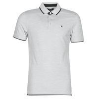 textil Herre Polo-t-shirts m. korte ærmer Jack & Jones JJEPAULOS Grå