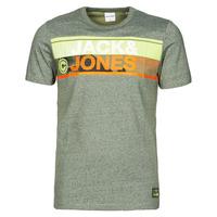 textil Herre T-shirts m. korte ærmer Jack & Jones JCONICCO Kaki