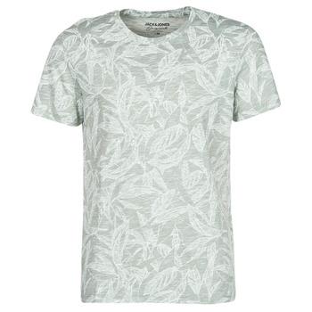 textil Herre T-shirts m. korte ærmer Jack & Jones JORLEFO Grå