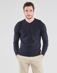 textil Herre Pullovere Jack & Jones JJEBASIC Marineblå