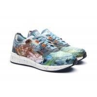 Sko Lave sneakers Asics Asics HyperGEL-LYTE x Vivienne Westwood  LIGHT STEEL/ORANGE