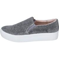 Sko Dame Slip-on Fornarina Sneakers BJ109 Sølv