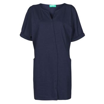 textil Dame Korte kjoler Benetton CAMILA Marineblå