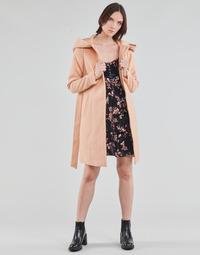 textil Dame Frakker Vero Moda VMCALALYON HOOD 3/4 JACKET GA Pink