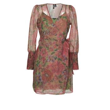 textil Dame Korte kjoler Vero Moda VMABELIA Grøn / Rød