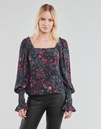 textil Dame Toppe / Bluser Vero Moda VMJACKIE Marineblå / Rød