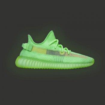 Sko Lave sneakers adidas Originals Yeezy 350 V2 Glow Glow/Glow/Glow