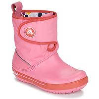 Sko Børn Vinterstøvler Crocs CROCBAND ll.5 GUST BOOT KIDS PLEM PPY Pink
