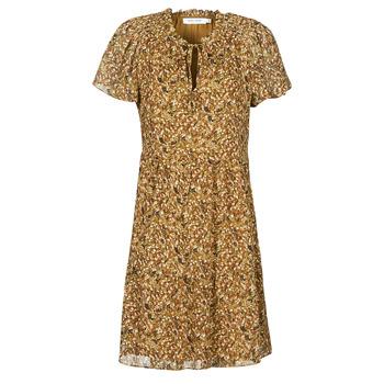 textil Dame Korte kjoler Naf Naf MARIA R1 Kamel