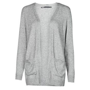 textil Dame Veste / Cardigans Only ONLLESLY Grå