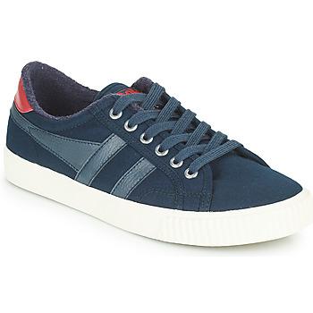 Sko Dame Lave sneakers Gola TENNIS MARK COX Blå / Rød