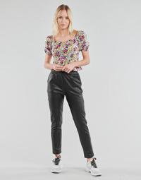 textil Dame Lærredsbukser Yurban OPATI Sort