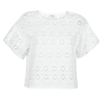 textil Dame Toppe / Bluser Betty London OCHERIE Hvid