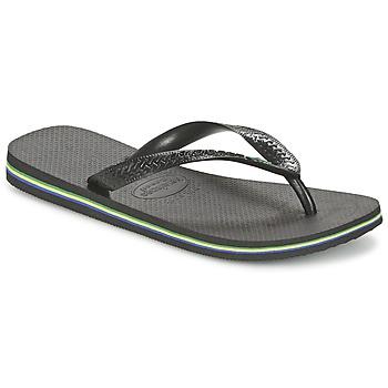 Sko Flip flops Havaianas BRASIL Sort