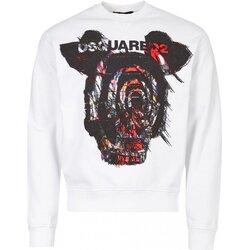 textil Herre Sweatshirts Dsquared S71GU0312 Hvid
