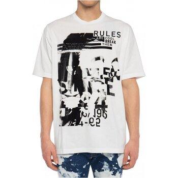 textil Herre T-shirts m. korte ærmer Dsquared S74GD0530 Hvid