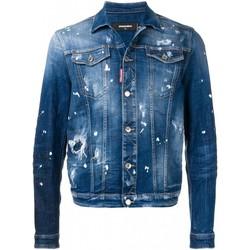 textil Herre Cowboyjakker Dsquared S71AN0052 Blå